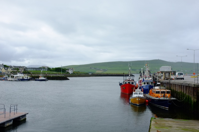 Dingle Harbour and boats